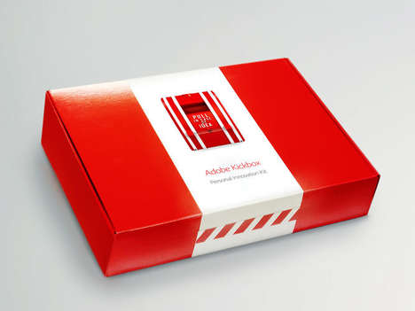 Creativity-Encouraging Boxes - The Adobe Kickbox Jumpstarts Employees' Next Big Idea