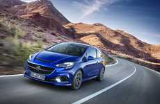 Turbocharged Hatchback Cars - The Corsa OPC Will Be Unveiled At the Geneva Motor Show