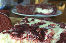 Red Velvet Cookie Cakes - The Vulgar Chef's Red Velvet Cheesecake Recipe Uses a New Oreo Flavor