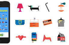 Furniture Branded Emojis - The IKEA Emoticons App Hopes to Streamline Domestic Texting