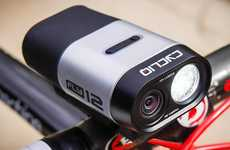 Camera-Embedded Bike Lights