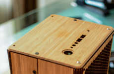 Beautiful Bamboo Desktops - This Wood Computer is Designed to Actually Go on Top of Your Desk