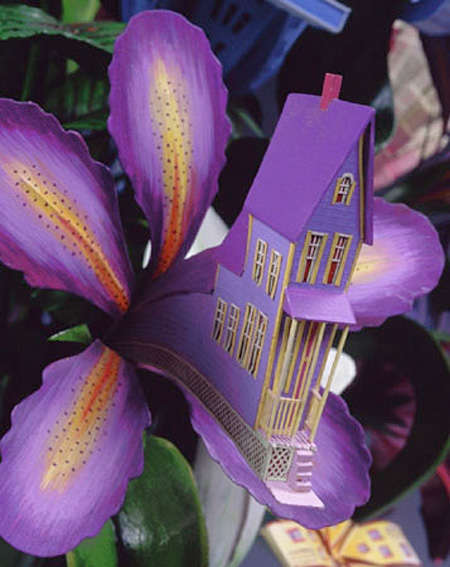Floral Architectural Sculptures - Houseplants by James Grashow is a Comment on Humans vs Nature