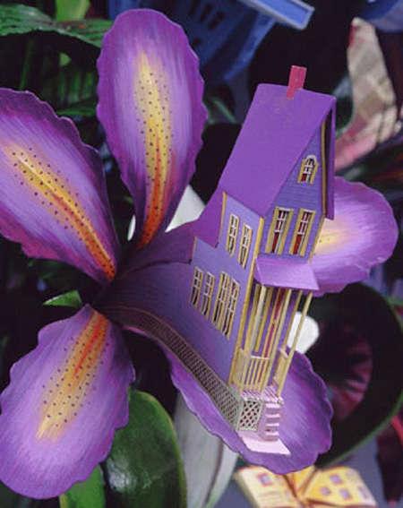 Floral Architectural Sculptures