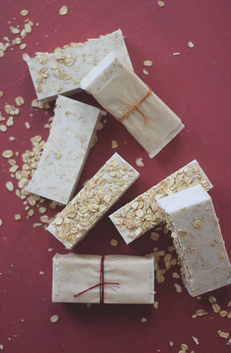 Homemade Soothing Soaps