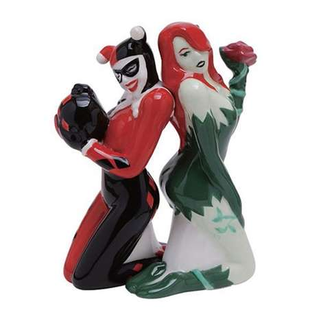 Villanious Condiment Shakers