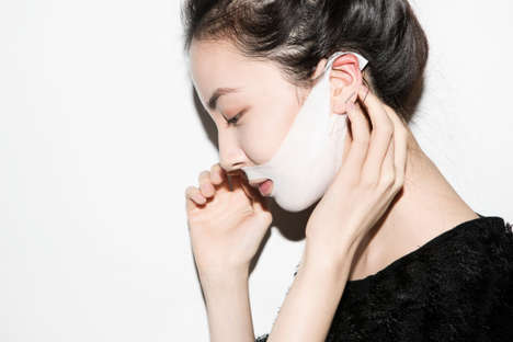 Surgical Anti-Aging Masks - The T.P.O V-Banding Mask Wraps Around Your Ears to Stay in Place