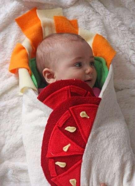 Burrito Baby Blankets
