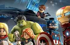 Superhero LEGO Figurines