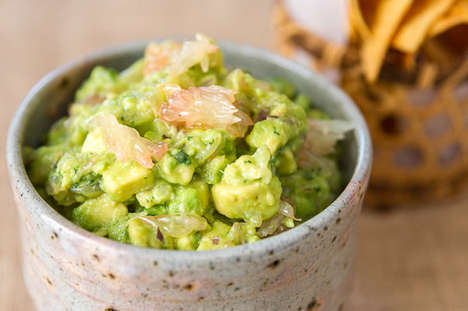 Citrusy Guacamole Recipes - This Delicious Recipe for Guacamole Also Incorporates Grapefruit