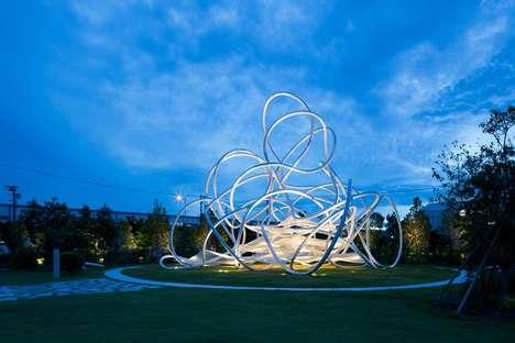Illuminating Sculptural Playgrounds