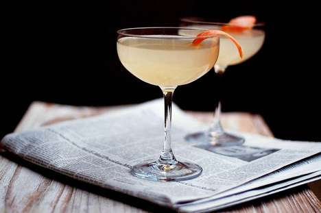 Author-Inspired Grapefruit Cocktails
