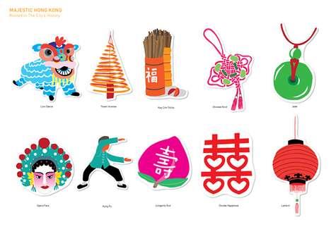 Decorative Adhesive Postcards