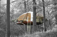 Eco-Friendly Portable Treehouses