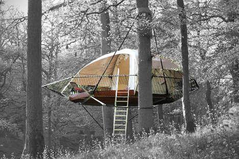 Eco-Friendly Portable Treehouses