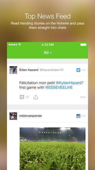 Soccer Fan Chat Apps