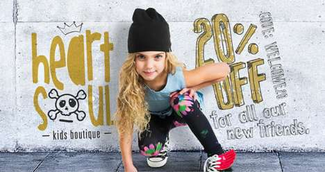 Urban Youngster Fashion - Heart N Soul Offers Spunky Clothing and Accessories for Little Ones