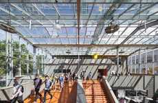 Colorful Futuristic Campuses - The Beatrix College Tilburg Campus is Vibrant and Full of Life
