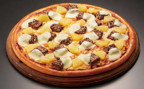 Candy-Covered Pizzas