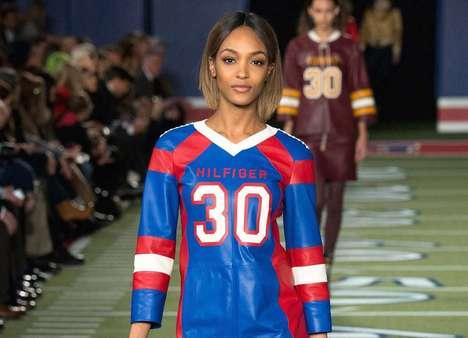 Feminine Football Jersey Fashion
