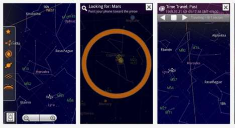 Astrology Android Apps - The Google Sky Map Teaches About the Heavens On-Demand