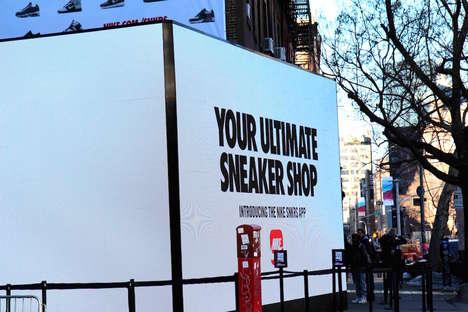 Footwear App Pop-Ups