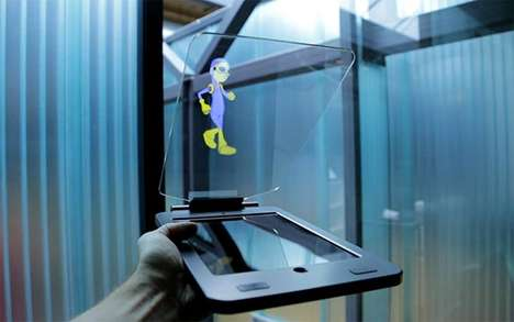 Hologram Tablet Technology - This Holocube Case Creates 3D Projections of On-Screen Animations