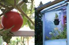 Solar-Powered Portable Greenhouses - The Smart Mini Greenhouse Units are an Urban Farming Solution