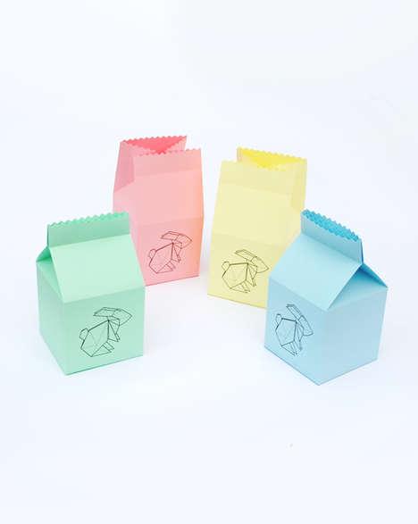 Origami Easter Packaging