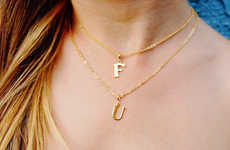Chic Profanity Accessories - Etsy's F U Necklace Exudes Attitude in a Subtle Way