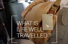 Emotive Travel Campaigns - Cathay Pacific's Life Well Travelled Campaign Markets Wanderlust