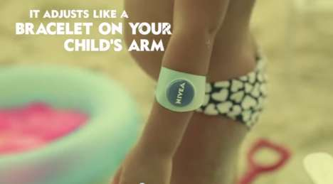 Child-Locating Sunscreen Ads - The Protection Ad by Nivea Uses iBeacons to Keep Track of Kids