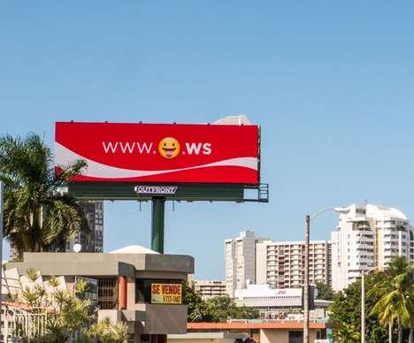 Happy Emoji Billboards
