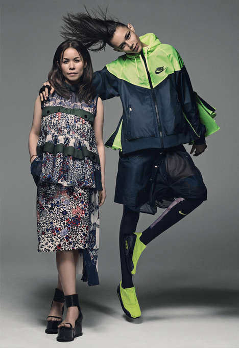 Disruptive Sportswear Collections - The Nikelab x sacai Collab is Set to Redefine Fitness Fashion