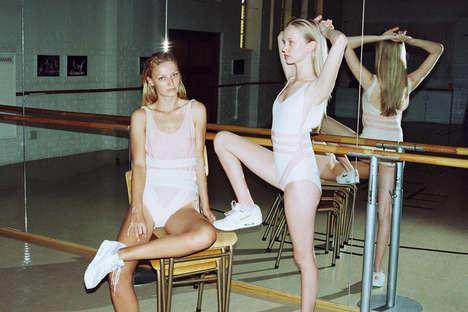 Vintage Ballerina Editorials