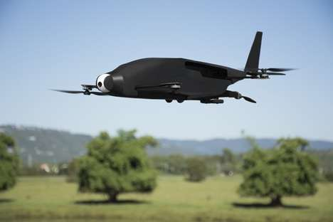Futuristic Miniature Airplanes