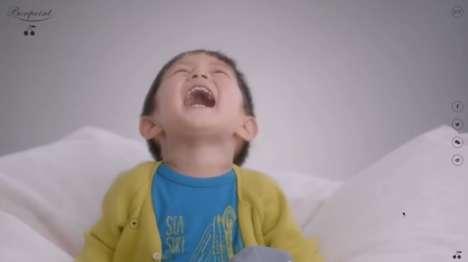 Playful Childrenswear Ads