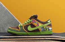 Soulful Skate Shoes - The Nike SB De La Soul Dunk Features Soulful Hip-Hop Graphics