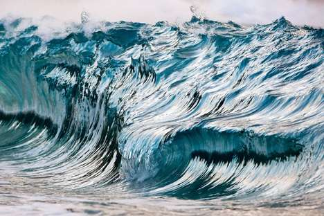 Painterly Ocean Photography