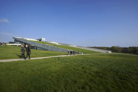 Experience-Focused Museums - The Moesgaard Museum in Aarhus Incorporates Nature and Design