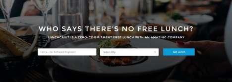Food-Focused Recruiting Sites