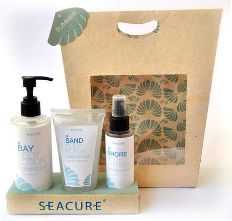 Sea-Inspired Beauty Packaging