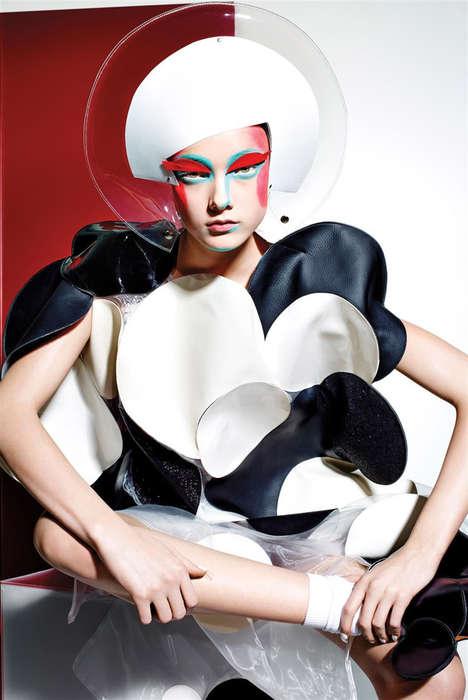 Avant-Garde Sci-Fi Cosmetics