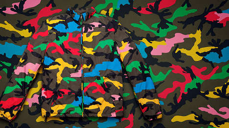 Camouflaged Urban Couture