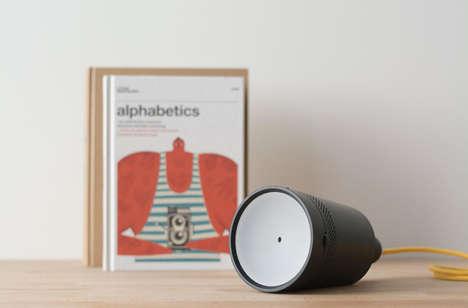 Lightbulb-Shaped Projectors