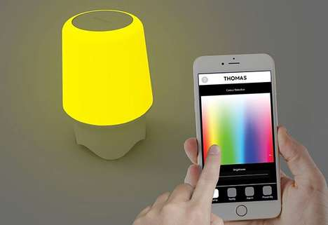 Lucid Smart Lamps - Multi-Functional Smart Light Facilitates Alarms, Calls and Vivid Illumination