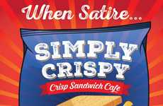 Snack Cafe Rebrands - The Simply Crispy Cafe in Belfast Now Only Serves Potato Chip Sandwiches