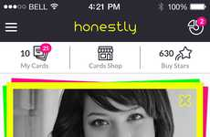 Positive Polling Apps - The Honestly App Anonymously Surveys Your Friends