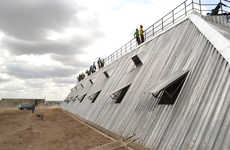 Water-Harvesting Stadium Structures - This Kenyan Stadium Gives Sustainable Architecture New Meaning