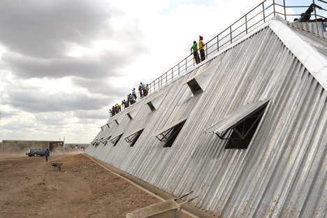Water-Harvesting Stadium Structures